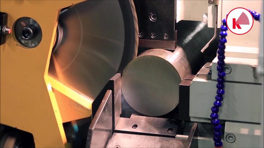 Haas Saw CX 6-L cutting 132mm AISI 321 b