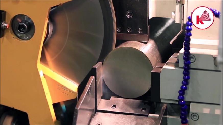 Haas Saw CX 6-S cutting 132mm AISI 321 b
