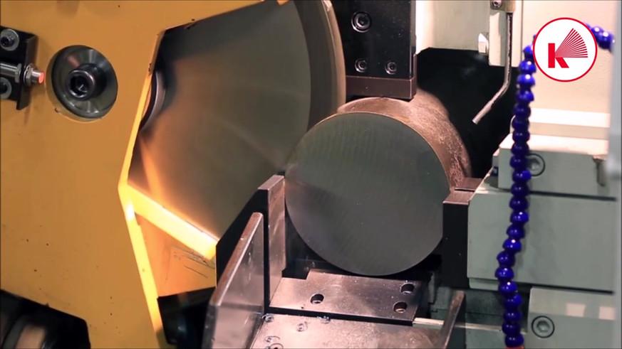 Haas Saw CX 1-H cutting 150mm ST52 steel