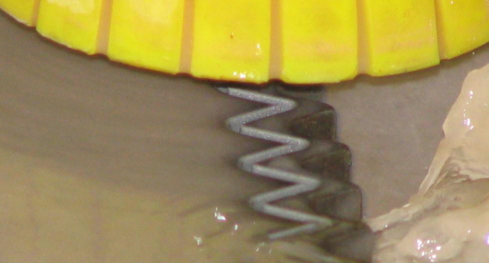Waterjet Cutting Friction Saw Blade
