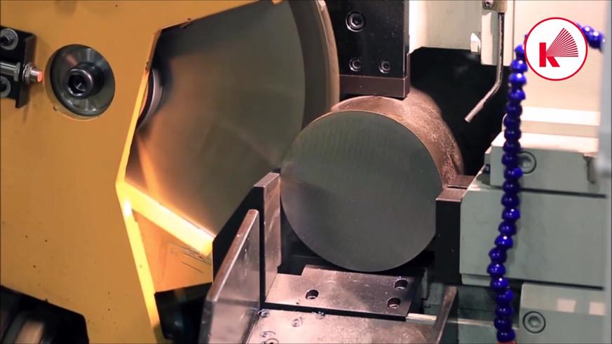 Haas Saw Champion SL cutting 150mm ST52