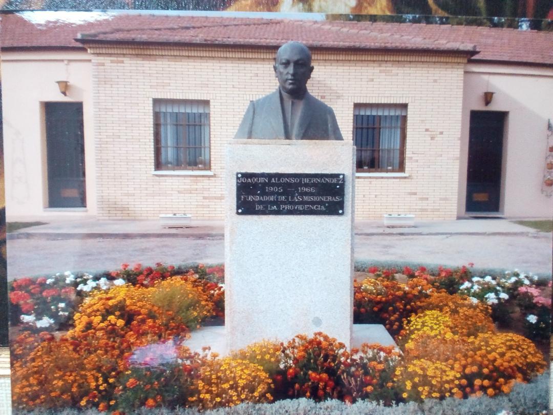 Busto de Joaquín Alonso Hernandez