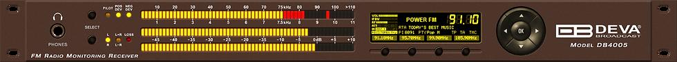 DB4005 SDR-Based FM Radio Modulation Analyzer and Monitoring Receiver