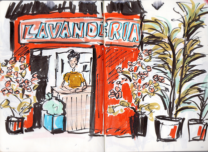 Mexico Travel Sketches