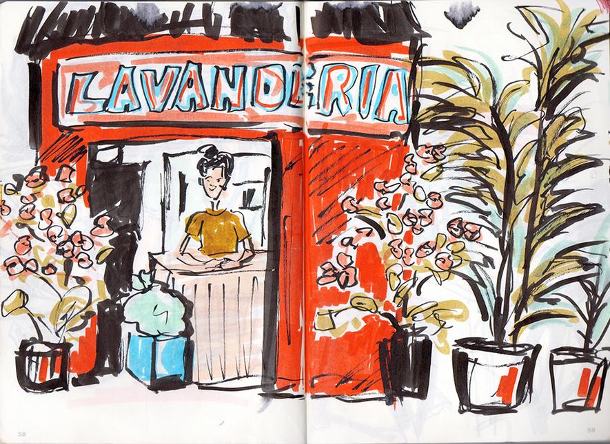 Mexico Travel Sketches