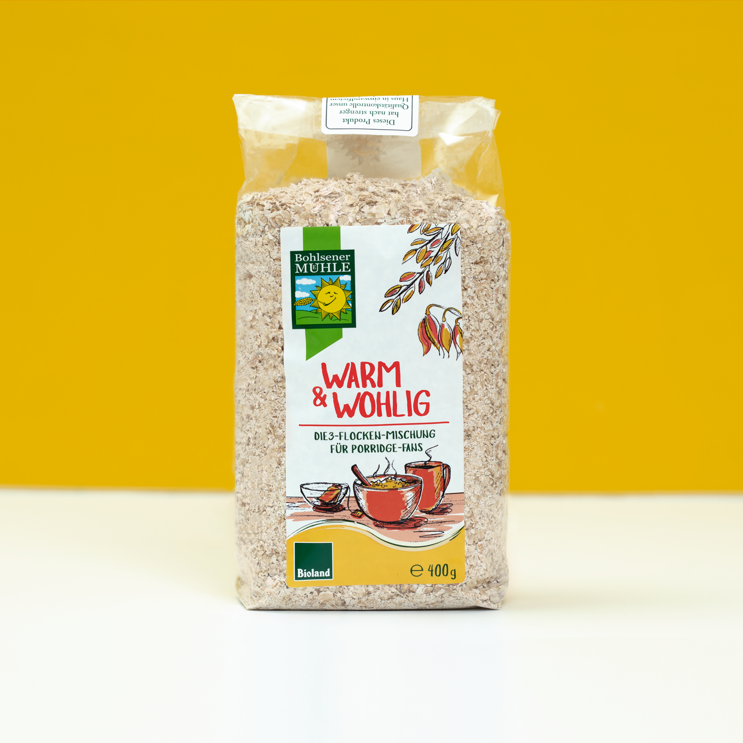 cereal mix - packaging design