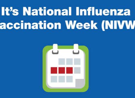 December 3-9 is National Influenza Vaccination Week