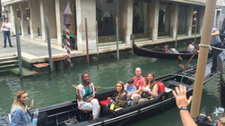 GONDOLA RIDE AT VENICE, ITALY-2016