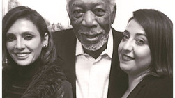 AT TCA AGAIN WITH MORGAN FREEMAN