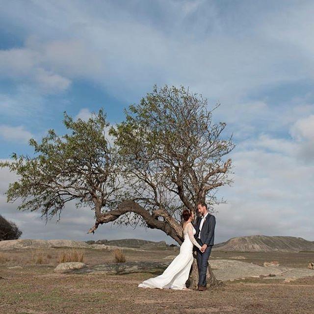 Bride & groom in Batesford area