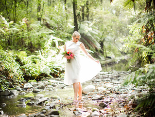 Forest inspired styled shoot