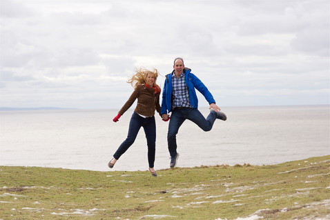 southerndown engagement photography ogmore by sea photographer