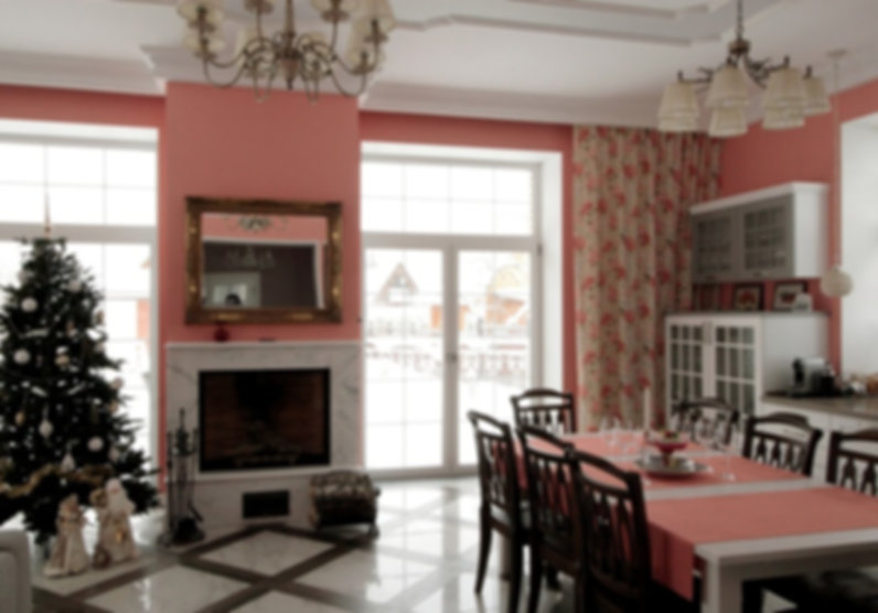 Яркий дом в Новой Москве
