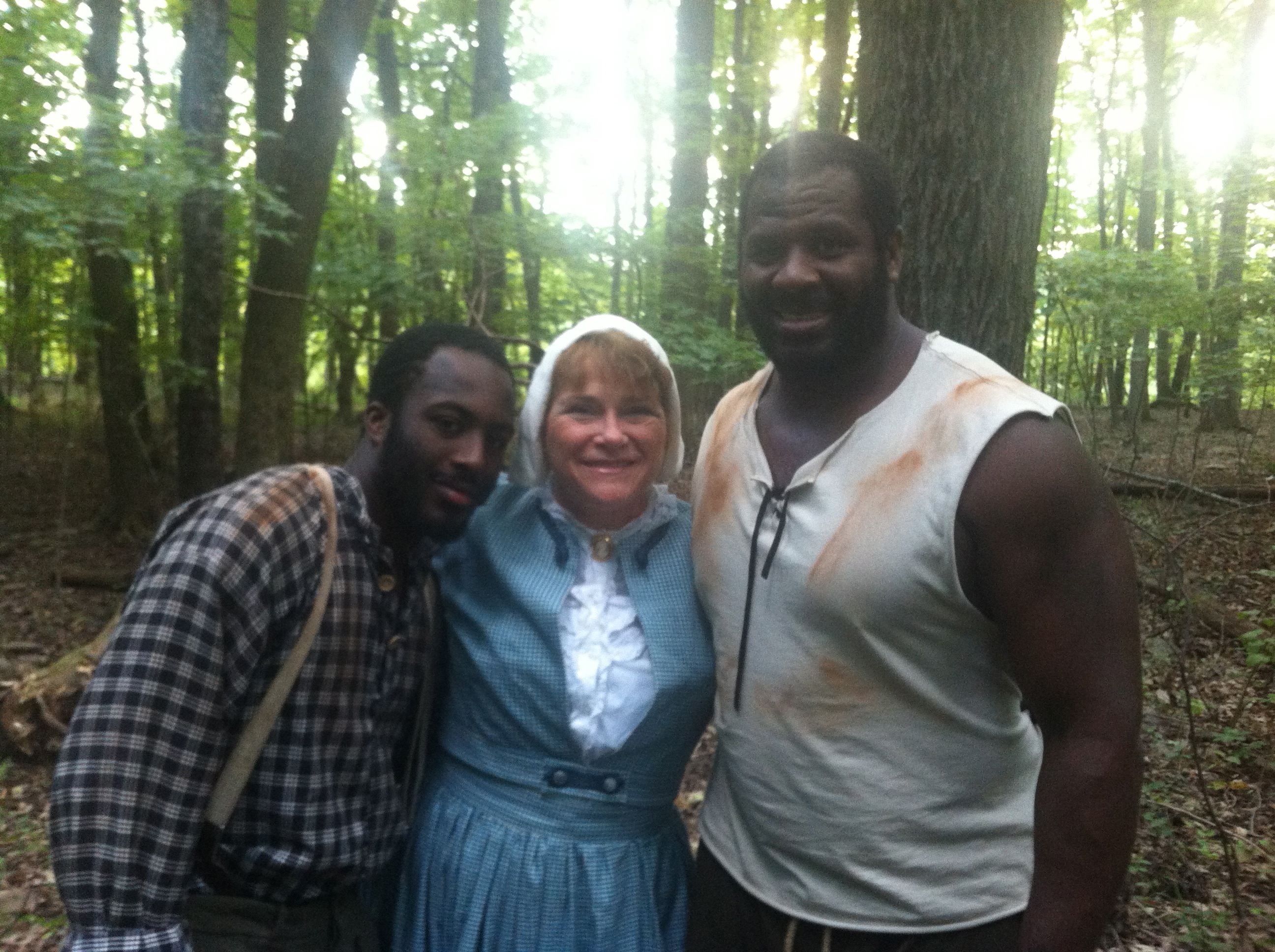 """On the set of the movie """"North Star"""""""