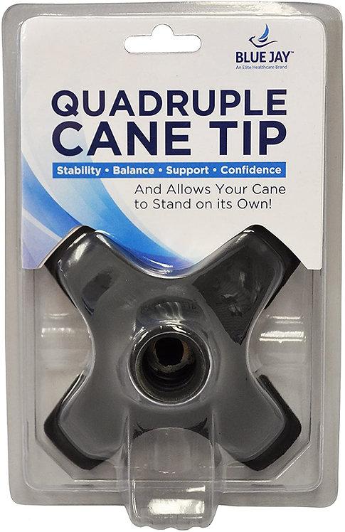"Blue Jay Quadruple Cane Tip 3/4"""