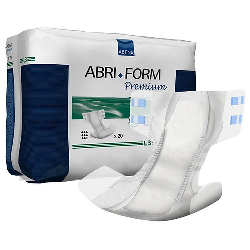 Abri-Form Large Premium Protective Adult Diapers (L3) 20pack