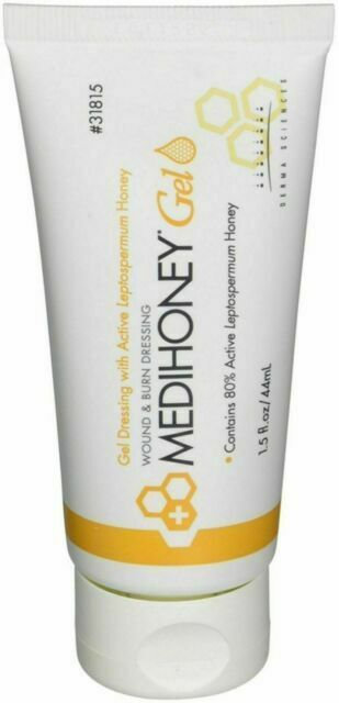 MEDIHONEY® Gel Wound & Burn Honey Dressing 1.5Fl oz
