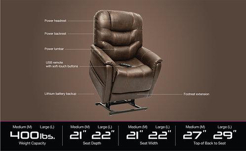 Pride VivaLift Elegance Infinite Position Reclining Lift Chair
