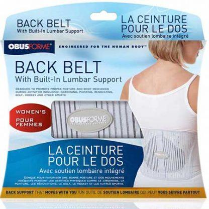 ObusForme Female Back Belt