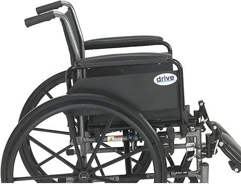 Cruiser III Light Weight Wheelchair with Flip Back Arm