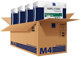 Abri-Form  M4 Premium Protective Adult Diapers (Medium/ 56 COUNT)