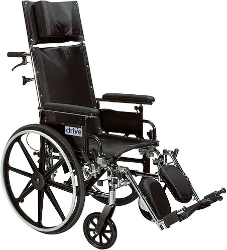 Viper Plus GT Full Reclining Wheelchair 20""
