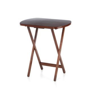 Side Table in Antique Walnut by Winsome