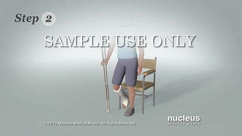 Aluminum Crutches Adults