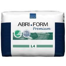 Abri-Form L4 Disposable Protective Underwear LARGE 12 Count