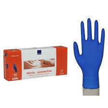 ABENA (Medium) Powder Free Nitrile Gloves (150 pieces)
