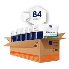XL3 Abri-Flex Disposable Protective Underwear 84 Count