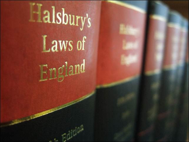 Halsbury's Laws of England books