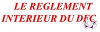 Règlement intérieur Dentelles Football Club