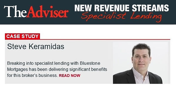 Steve Keramidas - Mortgage Broker on TheAdviser Magazine