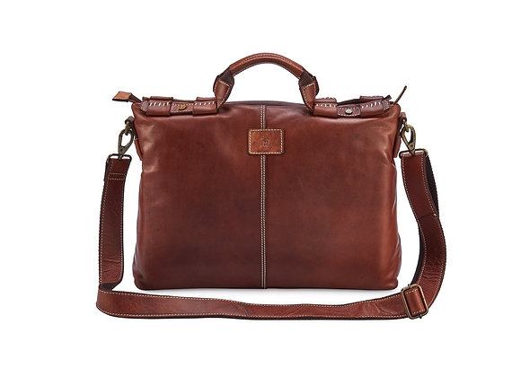 CAMILLA Leather Laptop Bag