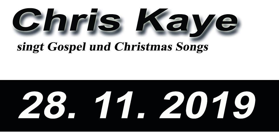 Gospel & Christmas Songs von Chris Kaye