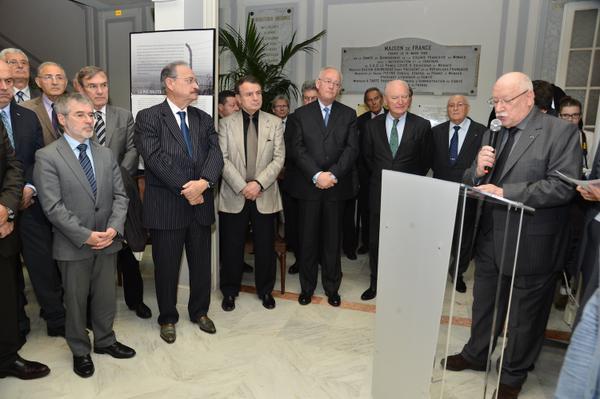 Journéé de la Déportation commémorée à la Maison de France à Monaco