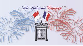 Fête Nationale Française - 14 juillet 2020