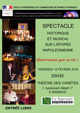 """Spectacle """"Quel roman que sa vie !"""" au théâtre des Variétés"""