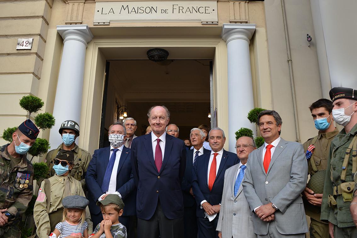 Célébration de la Libération de Monaco à la Maison de France