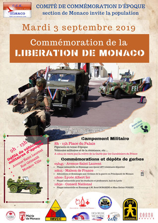 Commémoration de la Libération de Monaco à la Maison de France