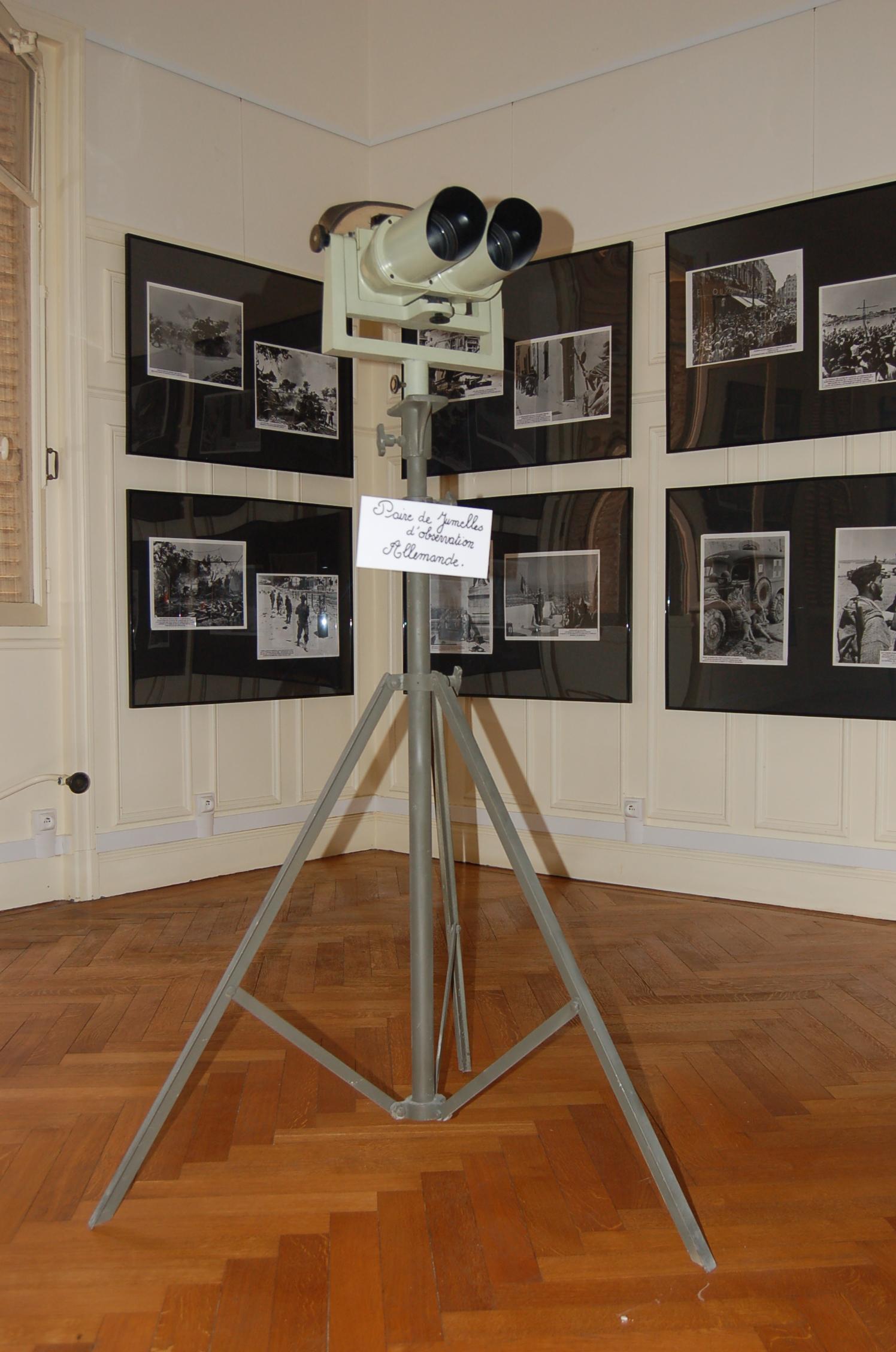 Jumelle-exposition Devoir de Mémoire