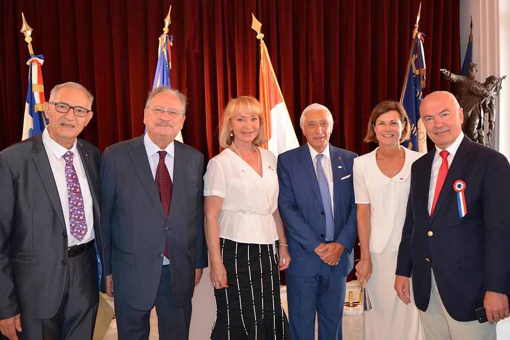 Célébration de la Fête Nationale Française 14 juillet 2018 - Maison de France