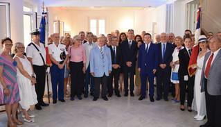 Célébration de la Fête Nationale Française 14 juillet 2019 - Maison de France
