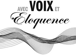 """Conférence de Jean-Philippe LAFONT """"Avec Voix et Éloquence"""""""
