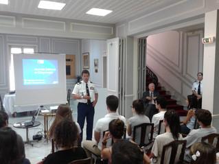 Journée Défense et Citoyenneté à la Maison de France à Monaco