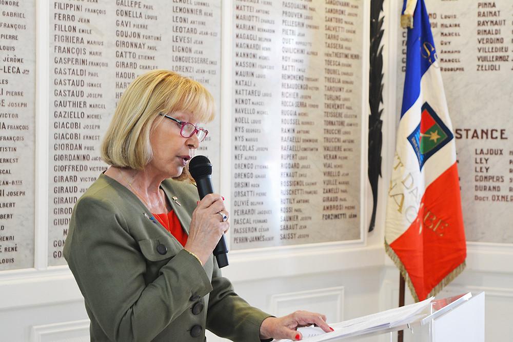 Discours Michelle Mauduit-Pallanca, Présidente de la FGFM