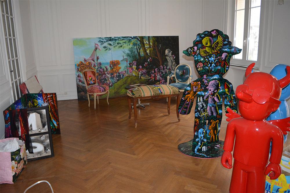 Exposition à la Maison de France