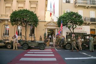 Célébration de la Libération de Monaco, le 3 septembre 2017