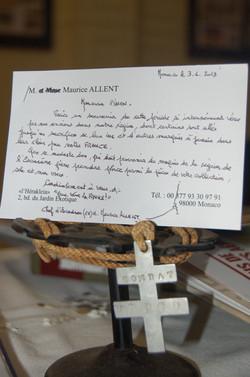 Relique exposition Maison de France